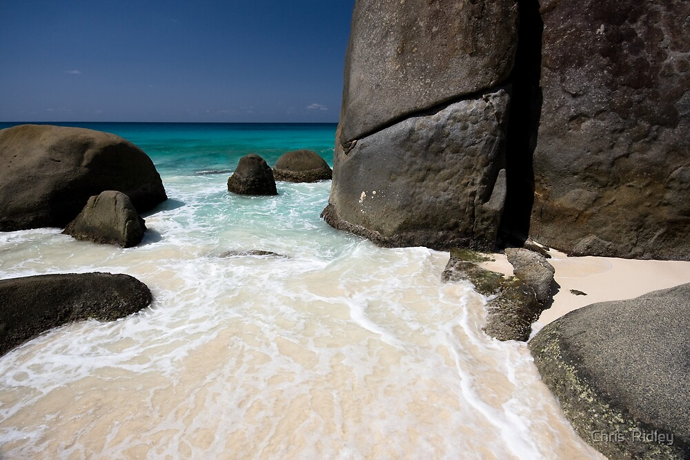 Paradise Beach by Chris  Ridley