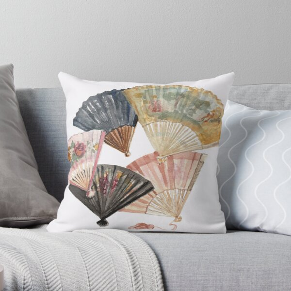 Keep Cool by Paris Lomé Throw Pillow