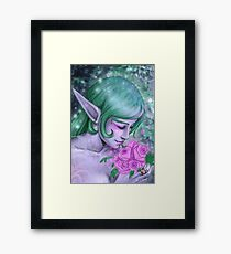 .:Night Elf:. Framed Print