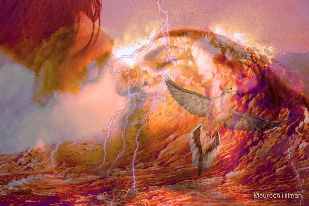 Fire Storm Kiss by MaureenTillman