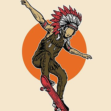 Indian Skater by asteriongraphic