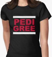 RUN Pedigree Women's Fitted T-Shirt