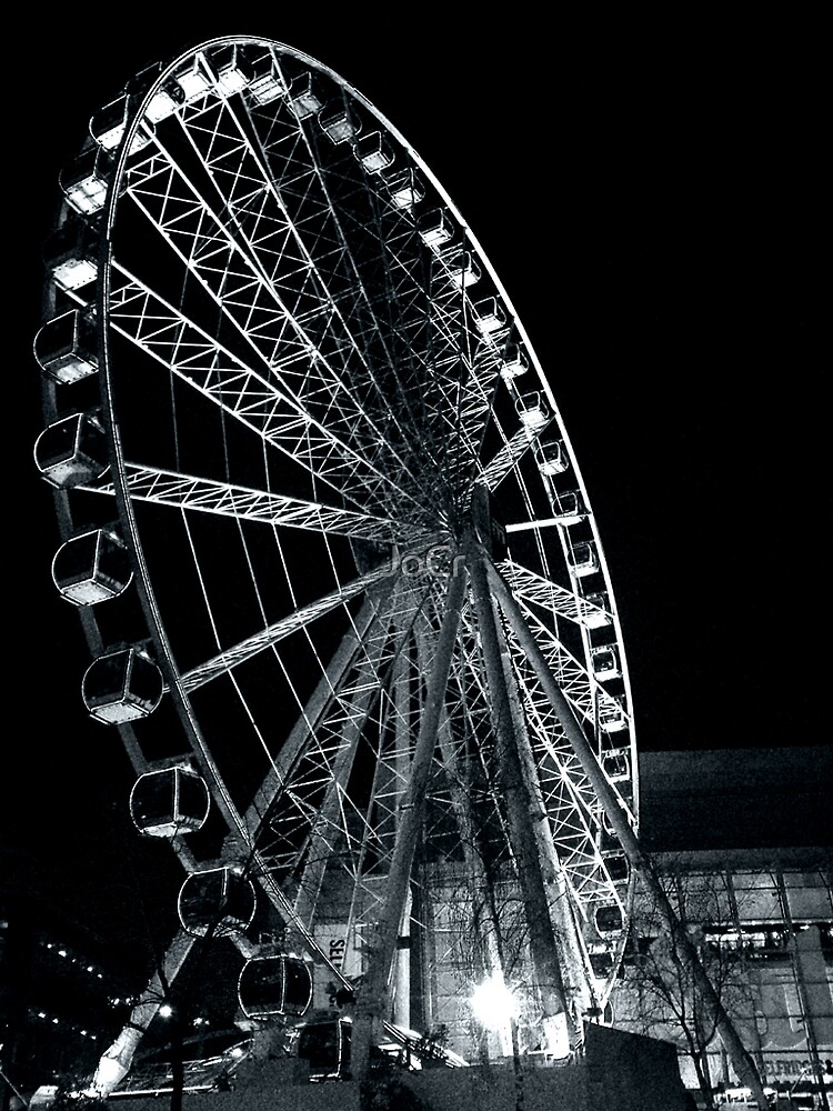 Night Wheel by JoCr