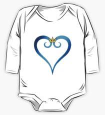 Königreich-Herz-Symbol Baby Body Langarm