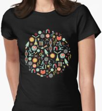 Science Studies Women's Fitted T-Shirt