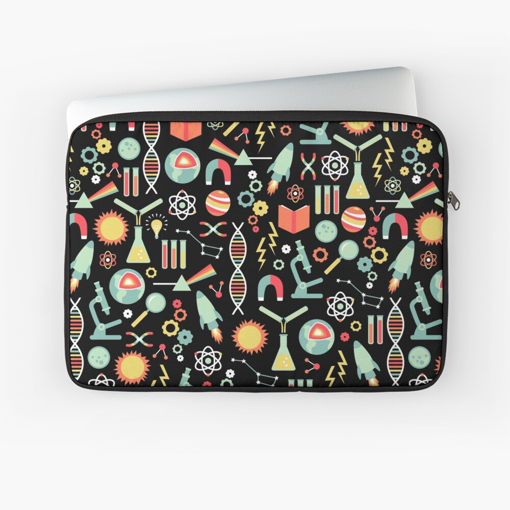 Science Studies Laptop Sleeve