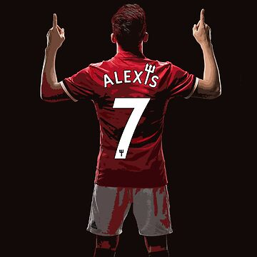 Alexis Sanchez - Manchester United's Number 7 by FrontierAtDusk