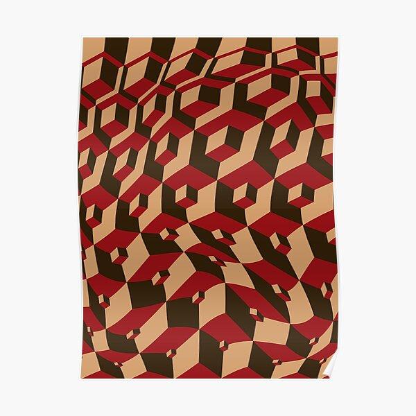 Escher Warped! Poster