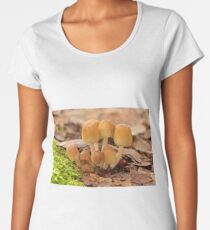 Inky Cap Mushrooms Women's Premium T-Shirt