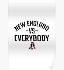 New England vs Everybody Poster