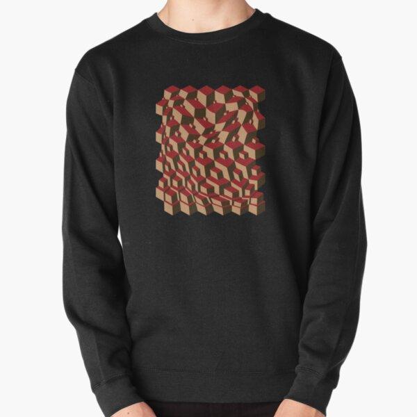 Escher Warped! Pullover Sweatshirt