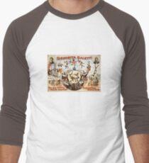 Circus Monkeys Baseball ¾ Sleeve T-Shirt