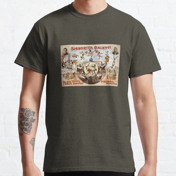 Circus Monkeys Classic T-Shirt