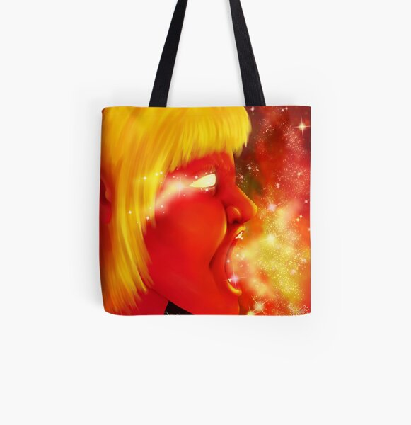 Screaming at the Stars All Over Print Tote Bag