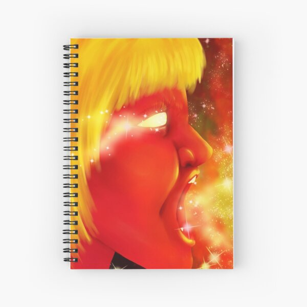 Screaming at the Stars Spiral Notebook