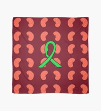 Green Ribbon for FSGS Scarf