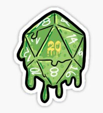 Gelatinous Icosahedron Sticker