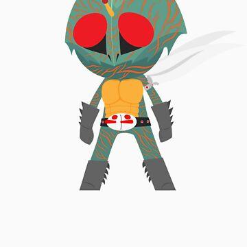 Kamen Rider Amazon by jamienoguchi