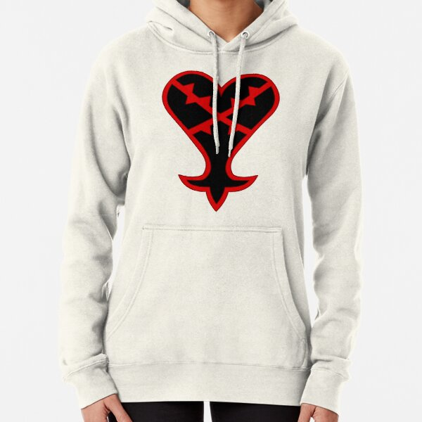 Kingdom Hearts Heartless Symbol Pullover Hoodie