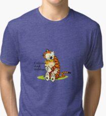 Calvin And Hobbes HUG Tri-blend T-Shirt