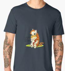 Calvin And Hobbes HUG Men's Premium T-Shirt