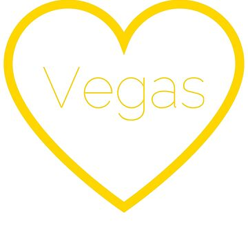 Love Las Vegas T-Shirt by AlienFrogTees