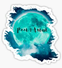 Pegatina Moon Poet | Artista