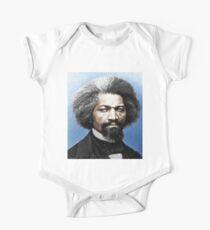 Frederick Douglass Malerei in Farbe Kurzärmeliger Einteiler
