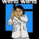 Agent Weng Weng by sinistergrynn