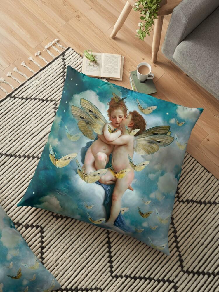 """«""""Angels in love in heaven with butterflies"""" » de MarCanton"""