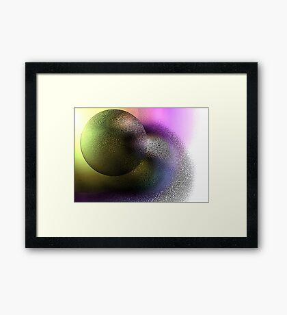 Planet Y Framed Print