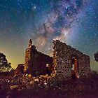 Crumbling Walls in Starlight by pablosvista2