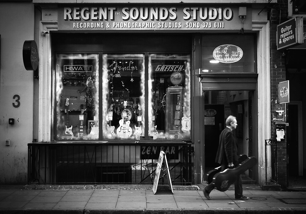 regent sound by Tony Day