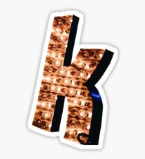 "The Killers ""K""  Sticker"