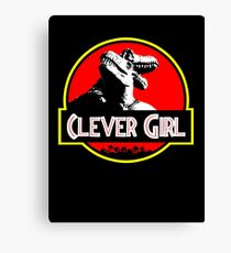 Clever Girl II Canvas Print