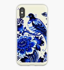 Delft porcelain iPhone Case
