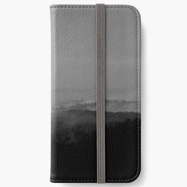 Foggy Mendocino morning iPhone Wallet