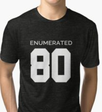Rep Your Census Year - 80s Generation Tri-blend T-Shirt
