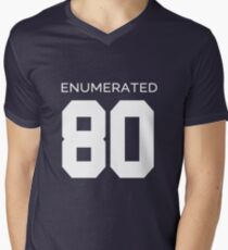 Rep Your Census Year - 80s Generation Men's V-Neck T-Shirt