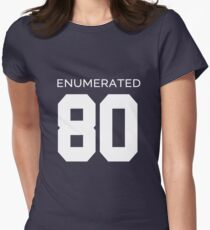 Rep Your Census Year - 80s Generation Womens Fitted T-Shirt