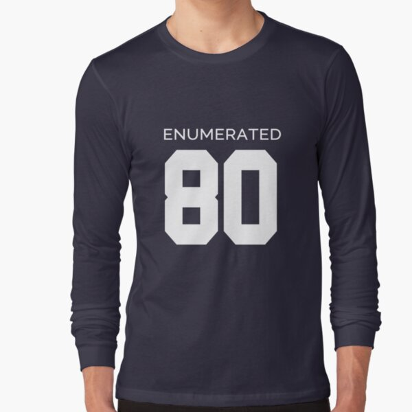 Rep Your Census Year - 80s Generation Long Sleeve T-Shirt