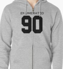 Rep Your Census Year - 90s Generation Zipped Hoodie