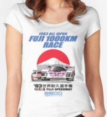 1983 FUJI 1000KM Women's Fitted Scoop T-Shirt