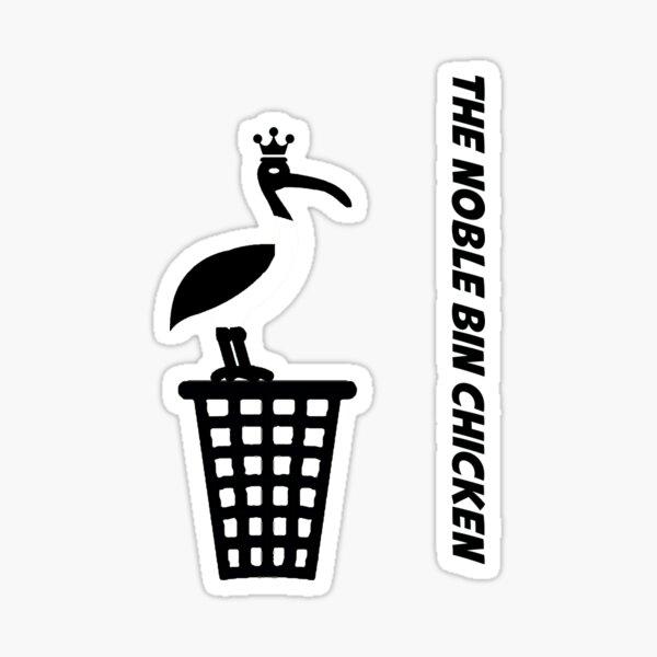 The Noble Bin Chicken Sticker