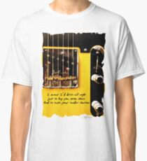 Bruce Springsteen Song Tribute Drive All Night Classic T-Shirt