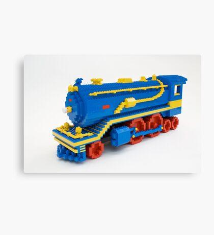 LEGO Train Engine Canvas Print