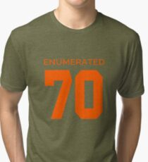 Rep Your Census Year - 70s Generation Tri-blend T-Shirt