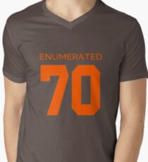 Rep Your Census Year - 70s Generation Men's V-Neck T-Shirt