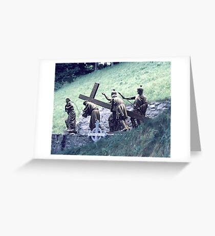 Station of the Cross Greeting Card