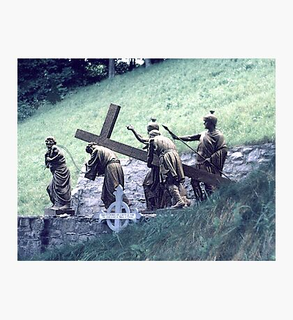 Station of the Cross Photographic Print